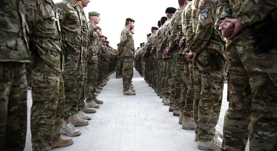 Op mod 200 danske soldater skal udstationeres i Estland (arkivfoto)