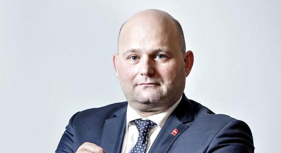 Justitsminister Søren Pape Poulsen (K)