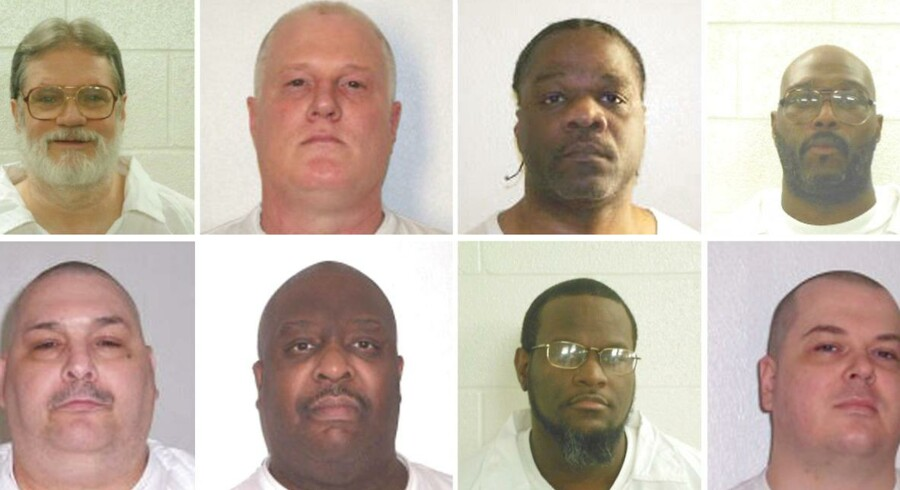 Ledell Lee (nummer to fra venstre, øverste række) blev natten til fredag henrettet.