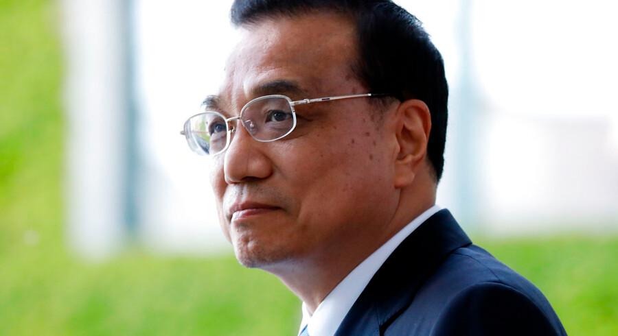 Kinesisk premierminister Li Keqian kan tænkes at bejle til EU grundet handelskrigen med USA.