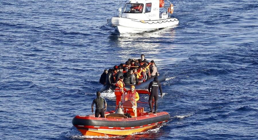 Bådflygtninge, der reddes under forsøget på at krydse Middelhavet, skal sendes tilbage til Afrika. Sådan lyder det i nyt forslag fra det tyske regeringsparti CSU.