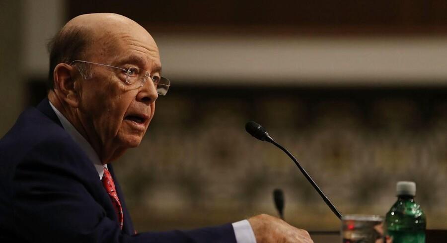 Den amerikanske handelsminister, Wilbur Ross Jr.