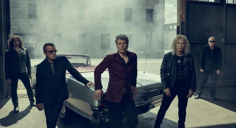 Rockgruppen Bon Jovi er aktuelle med albummet »This House Is Not For Sale«