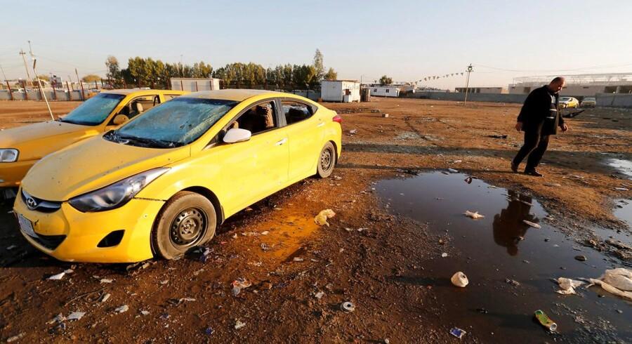 En bilbombe har kostet 32 mennesker livet i Iraks hovedstad, Bagdad. Et halvt hundrede andre er såret i torsdagens angreb.