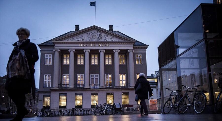 Danske Bank. Danske Banks hovedsæde på Kongens Nytorv i København.