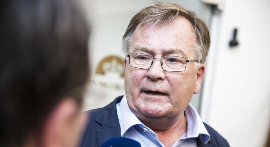 Finansminister Claus Hjorth Frederiksen.
