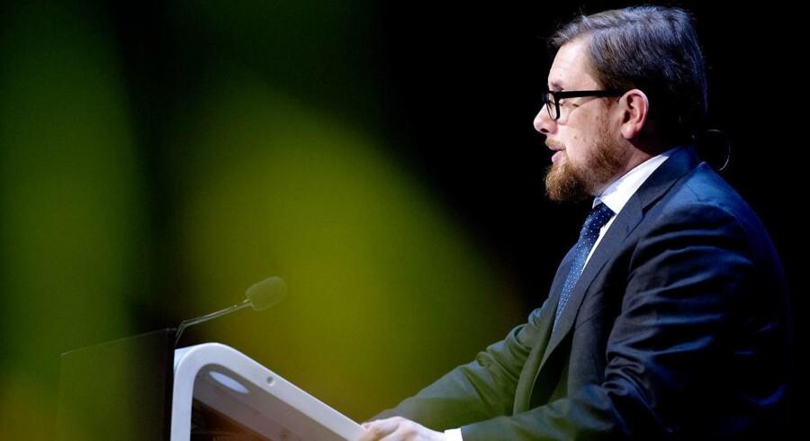 (ARKIV) Simon Emil Ammitzbøll-Bille (LA), økonomi- og indenrigsminister.. (Foto: Bax Lindhardt/ Scanpix 2018)