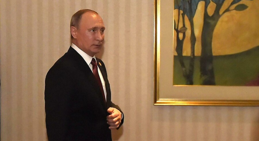 Putins udtalelse faldt søndag i forbindelse med afslutningen af Apec-topmødet i Peru mellem lederne ved Stillehavet og i Asien.