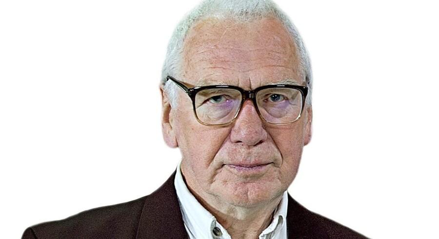 Foto af Beinov og hans gÔø?st, Bent Jensen, historiker, dr. phil.