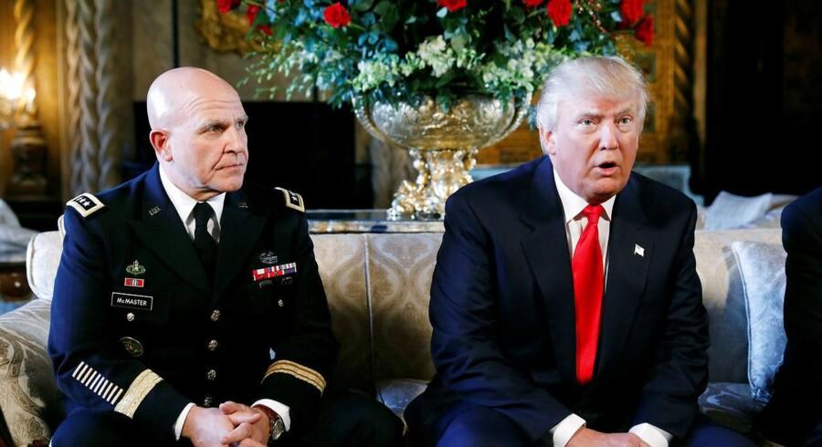 Donald Trump annoncerede mandag, at hans nye sikkerhedsrådgiver bliver general H. R. McMaster.