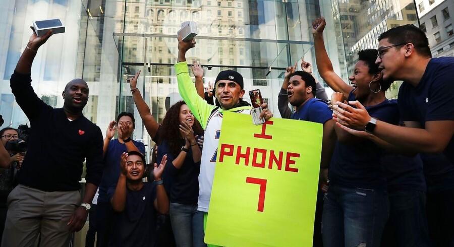 Lanceringen af Apples Iphone 7 i New York.