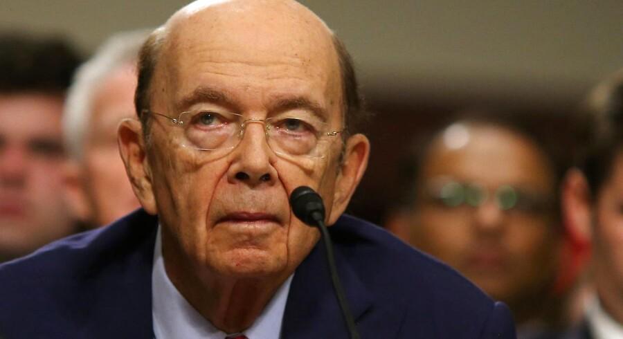 Den 79-årige Wilbur Ross kommer til at lede genforhandlinger om handelsaftaler med Kina.