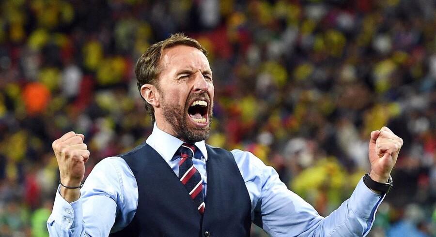Det engelske landshold var forberedt, da ottendedelsfinalen mod Colombia skulle afgøres på straffespark.