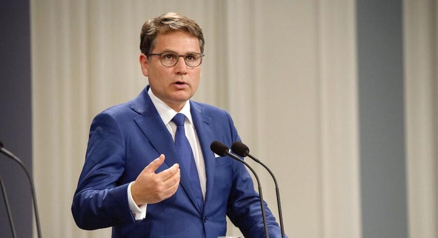 Erhvervsminister Brian Mikkelsen (K)