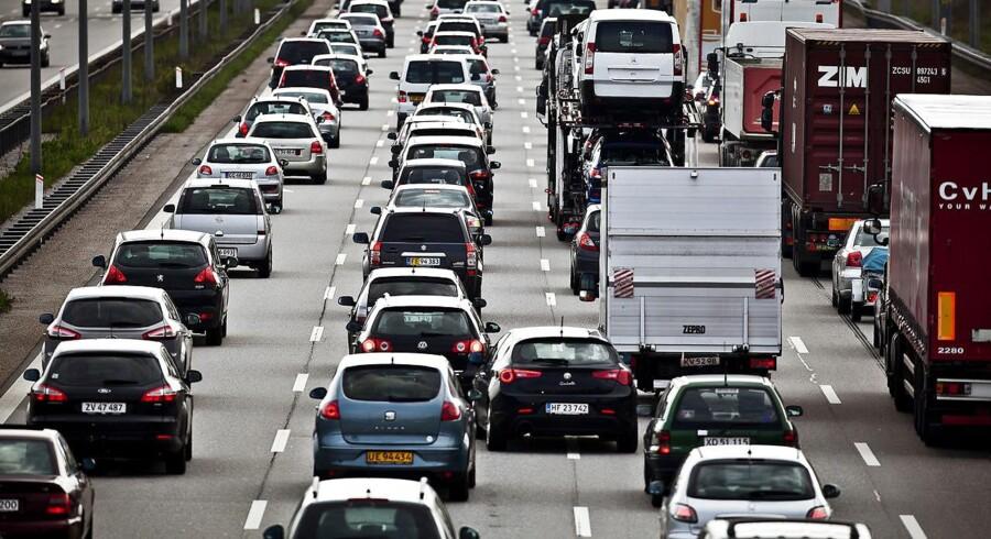 Arktivfoto. Paris, Mexico City, Madrid og Athen er blevet enige om at forbyde dieselbiler fra 2025.