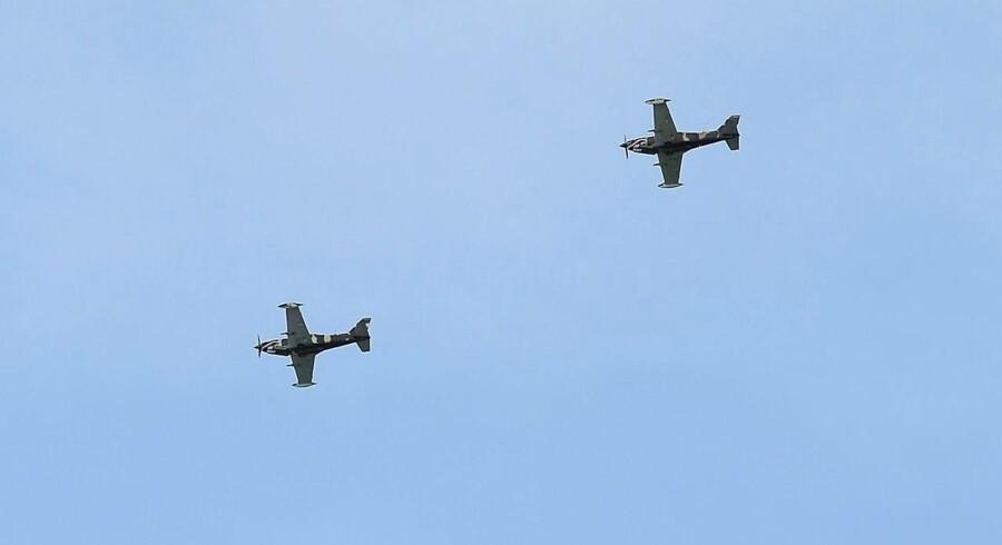 Arkivfoto. Ifølge Tass fulgte et Nato-fly efter et russisk fly, som havde landets forsvarsminister om bord.