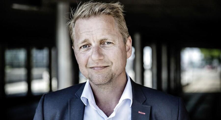 (ARKIV) Venstres Martin Geertsen understreger, at han ikke anklager nogen for Søren Pinds exit. (Foto: Thomas Lekfeldt/Ritzau Scanpix)