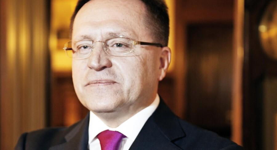 Ruslands ambassadør i Danmmark, Mikhail Vanin. Foto: Erik Refner