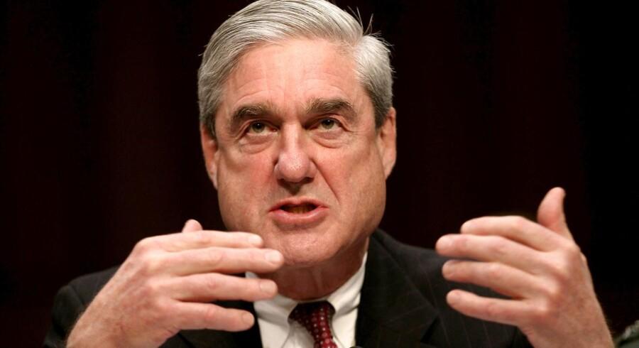 Tidligere FBI-chef og nuværende særlig anklager Robert Mueller - der er ansvarlig for at undersøge forholdet mellem Rusland og Donald Trumps præsidentkampagne.
