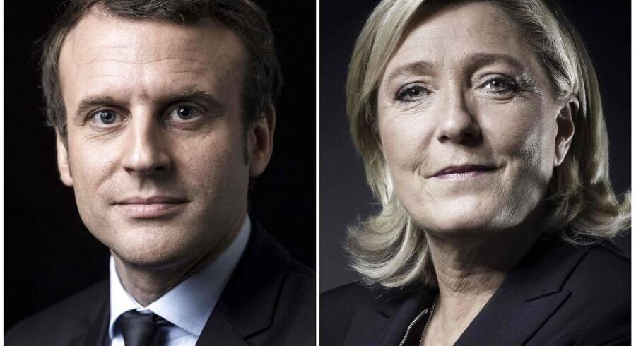 Emmanuel Macron og Marine Le Pen kæmper søndag d. 7 maj om at blive Frankrigs næste præsident. Uanset hvem af dem der sejrer, så står de over for omfattende problemstillinger,