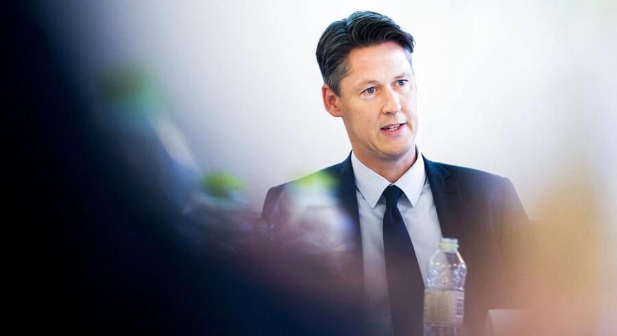 Overvimand og professor i økonomi på Aarhus Universitet Michael Svarer ser pæn vækst i dansk økonomi i de kommende år.