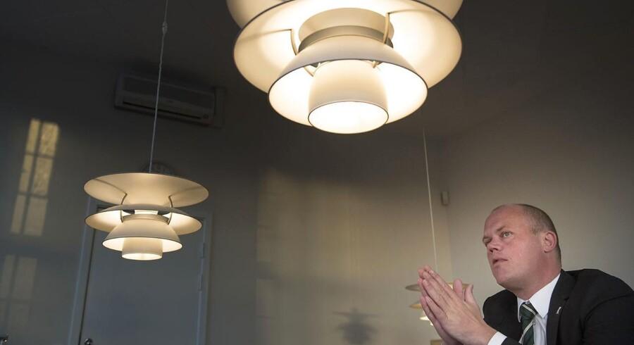 Forsvarsminister Peter Christensen (V) ønsker flere penge til Forsvaret.