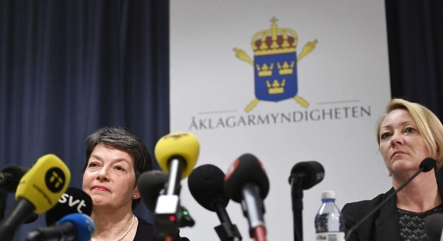 De svenske anklagere dropper sagen mod WikiLeaks-stifteren.