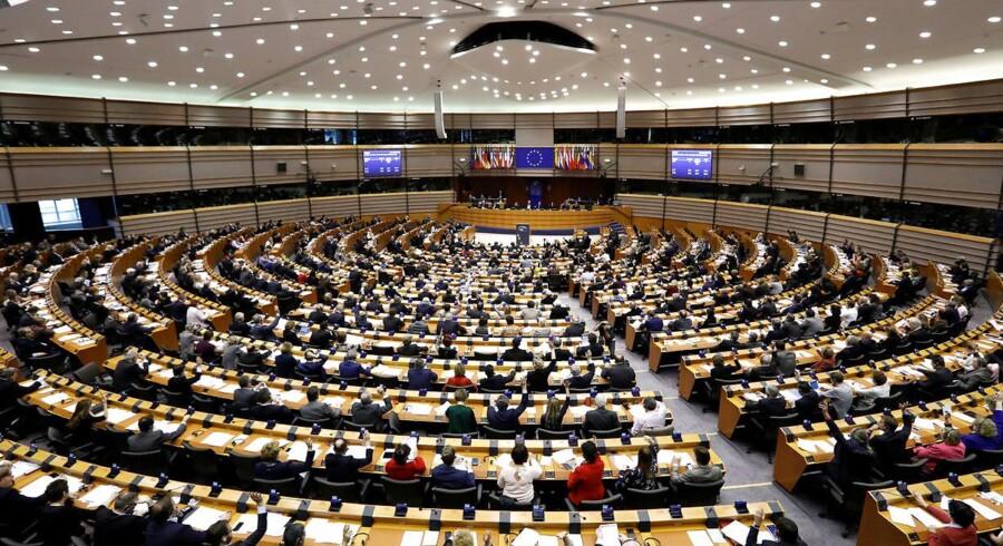 Arkivfoto. EU-Parlamentet. Foto: REUTERS / Yves Herman