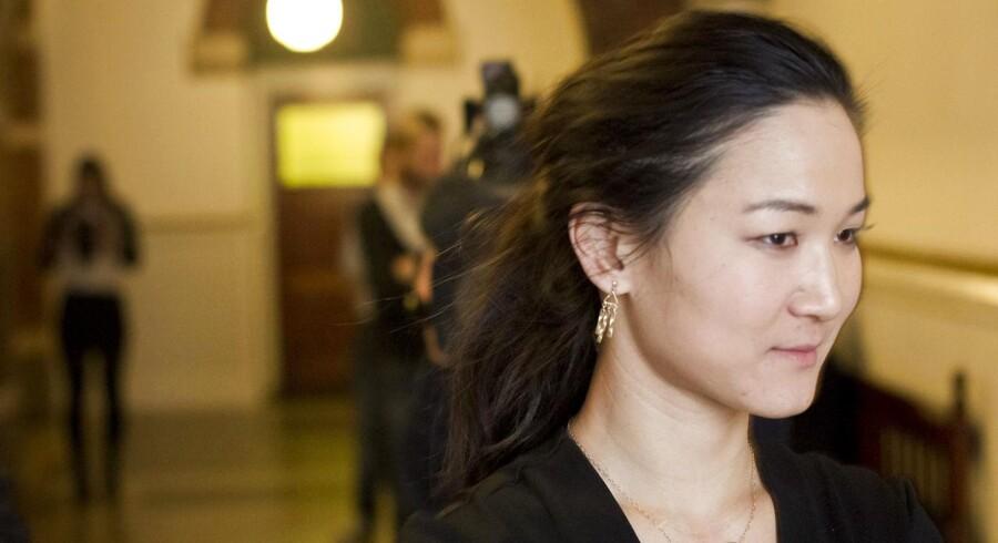 Falske valgplakater af den radikale borgmester, Anna Mee Allerslev, er blevet sat op i København.