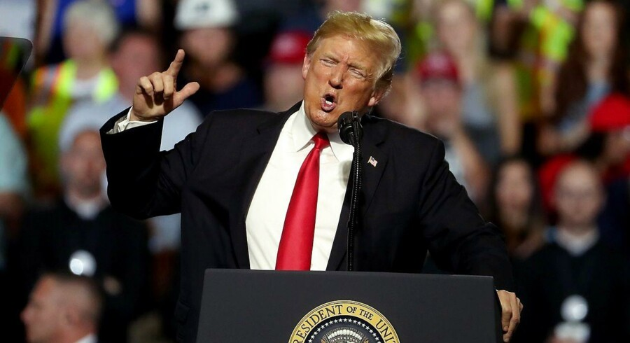 USAs præsident Donald Trump har skudt handelskrigen i gang