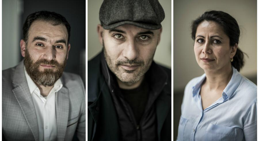 Mustafa Gezen, Lars Aslan Rasmussen og Özlem Cekic.