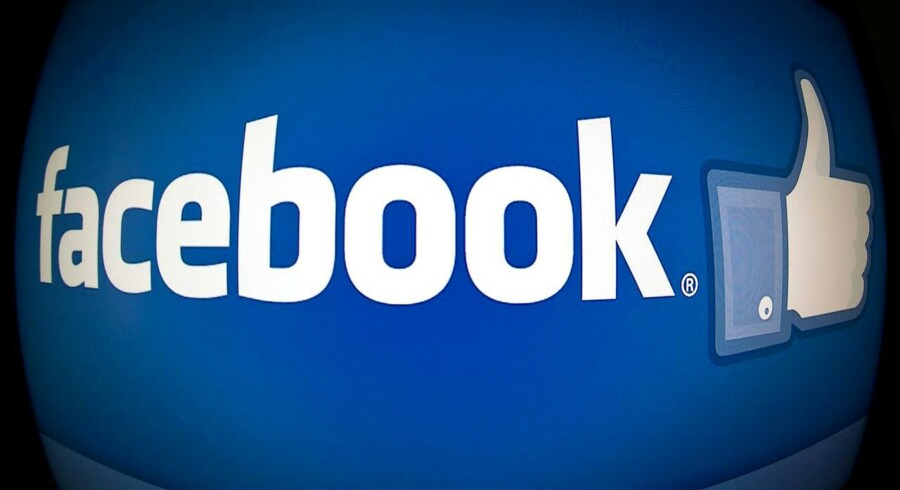 Facebook betalte i 2015 kun 0,03 procent i skat af sit overskud i EU-landene, mens det sociale medie i resten af verden betalte 28 procent i skat af overskuddet. AFP PHOTO / KAREN BLEIER