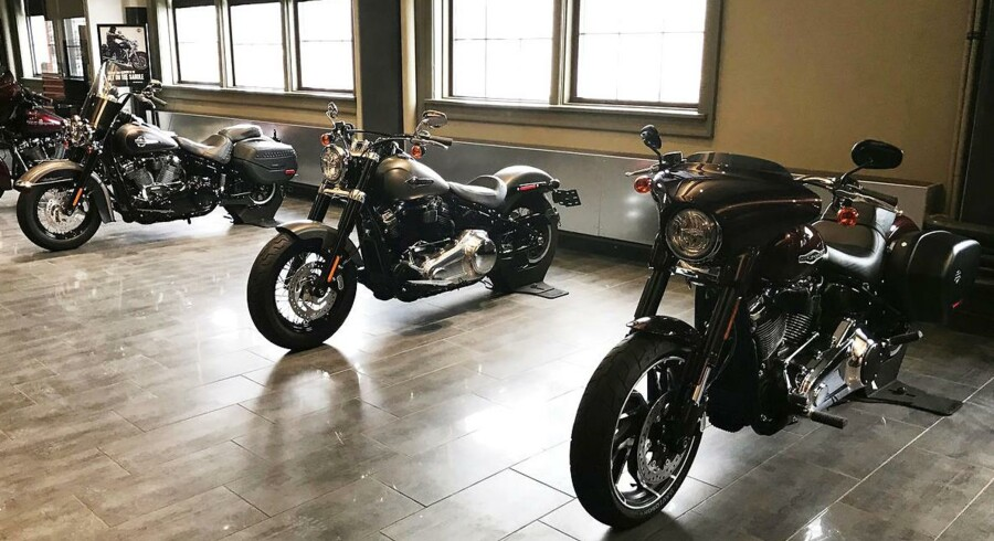 Harley-Davidson motorcycles are on display at the company's headquarter in Milwaukee, Wisconsin, U.S., February 7, 2018. Picture taken on February 7, 2018 REUTERS/Rajesh Kumar Singh