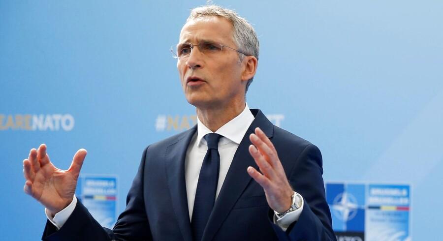 Forsvarschefen Jens Stioltenberg hæfter sig ved, at forsvarsbudgetterne i Europa vokser.