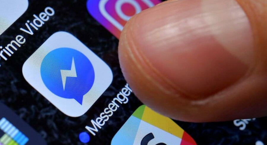 Arkivfoto: Den sociale mediegigant Facebook har lanceret en Messenger-app til børn, så de kan chatte med deres forældre og venner under kontrollerede forhold.