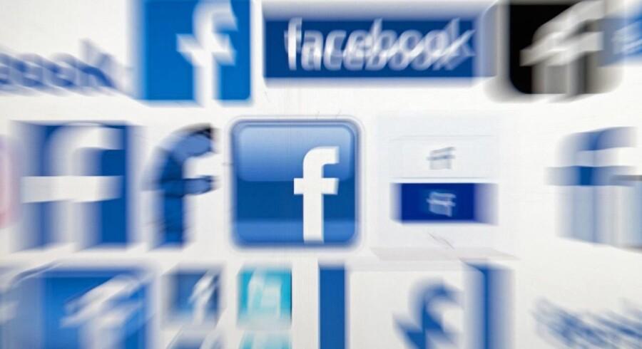 Facebook får den største bøde, som det britiske datatilsyn kan give - men den kunne være blevet astronomisk, hvis forseelsen var sket i år. Arkivfoto: Oli Scarff, AFP/Scanpix