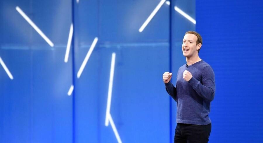 Facebooks topchef og stifter, Mark Zuckerberg, har ændret grundigt på ledelsen i selskabet. Arkivfoto: Josh Edelson, AFP/Scanpix