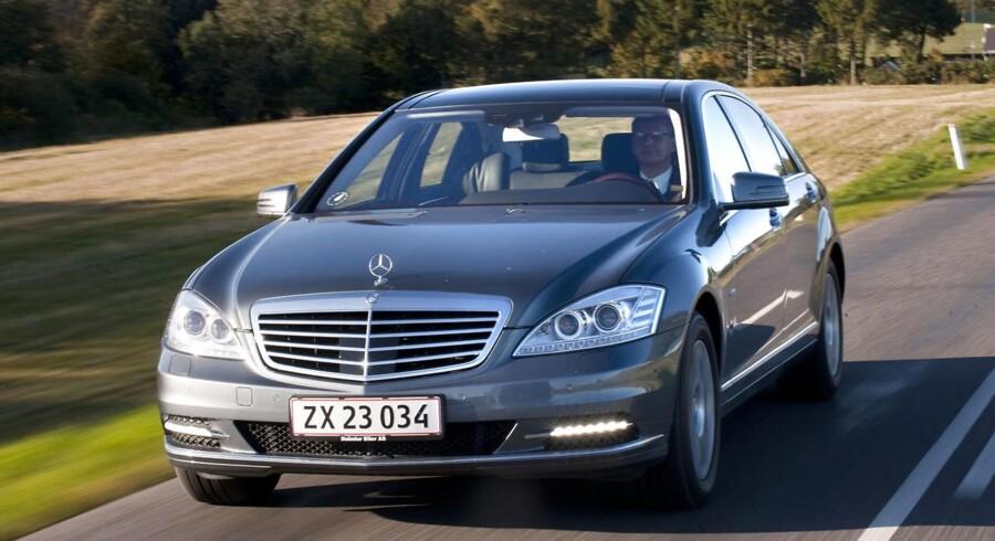 Den ulmende handslkrig kan nu også ramme blandt andet tyske biler. Foto:: Jens Nørgaard Larsen.