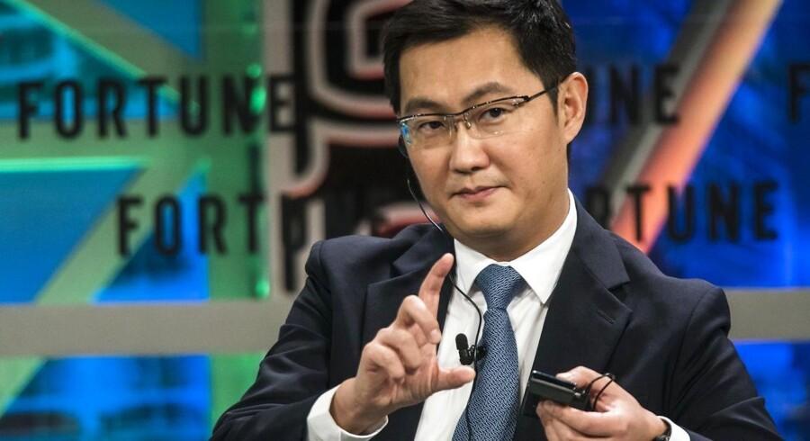 Pony Ma er formand og topchef for verdens femte mest værdifulde selskab, Tencent
