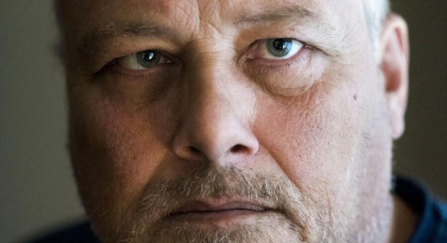 Kim Madsener formanden for foreningen Jobcentrets Ofre. Han er selv på kontanthjælp og skal inden længe i jobprøvning igen, så man kan finde ud af, hvilke job han vil kunne klare med ondt i ryggen.