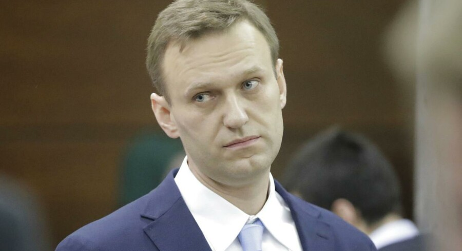 Arkivfoto. En omfattende overtrædelse af hvidvaskreglerne i Danske Bank bekymrer den fremtrædende russiske oppositionspolitiker, Aleksej Navalnyj.