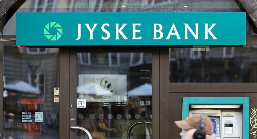 (ARKIV) Jyske Bank filial fotograferet den 7. november 2006. Foto: Jens Nørgaard Larsen/Scanpix 2018