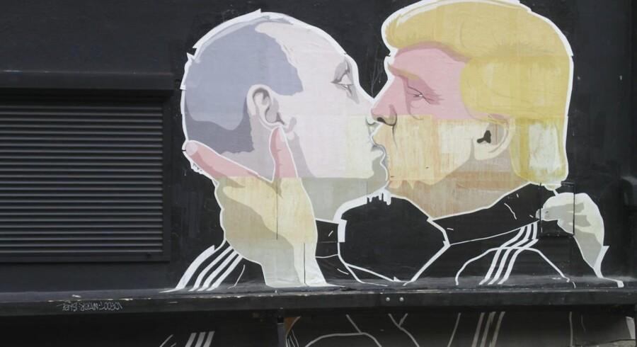 Russiske kommentatorer ser store muligheder i Donald Trump. Foto: EPA/VALDA KALNINA