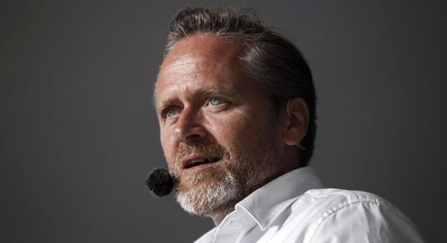 Udenrigsminister og partileder Anders Samuelsen (LA).