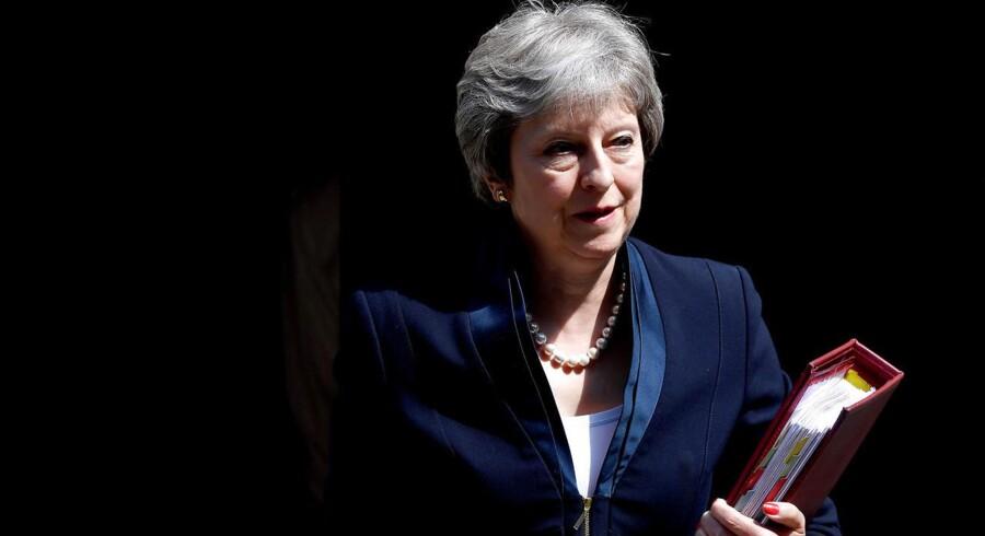 Theresa May offentliggjorde torsdag sit længe ventede udspil til, hvordan Brexit kan føres ud i livet.