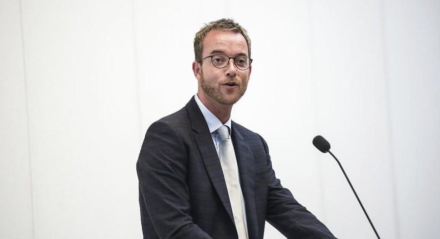 Arkivbillede: Miljø- og fødevareminister Esben Lunde Larsen.