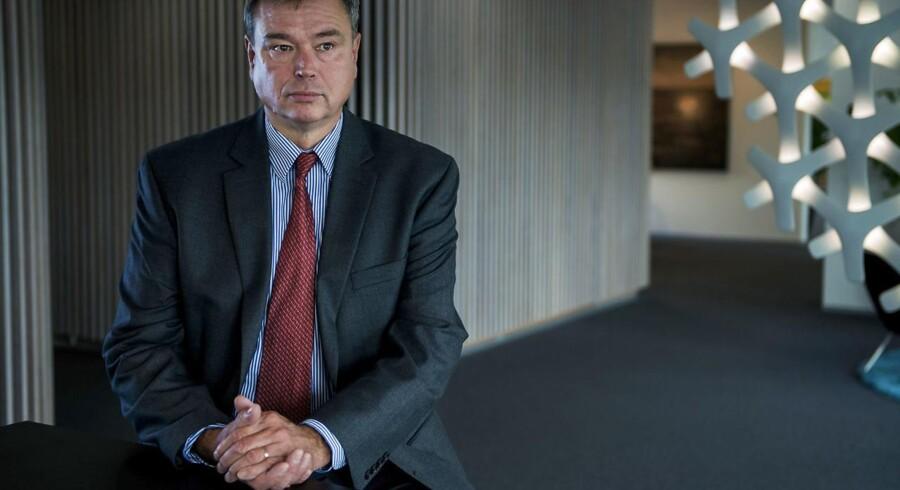 Novozymes CEO Peder Holk Nielsen var den afgørende faktor, for afskedigelsen af den afgående finansdirektør i selskabet.