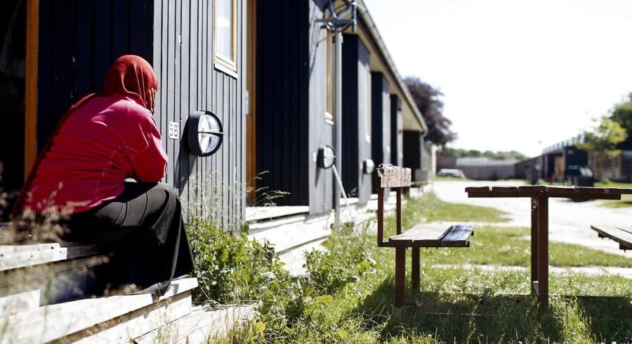ARKIVFOTO fra asylcenter i Sandholmlejren (Foto: Bax Lindhardt/Scanpix 2017)
