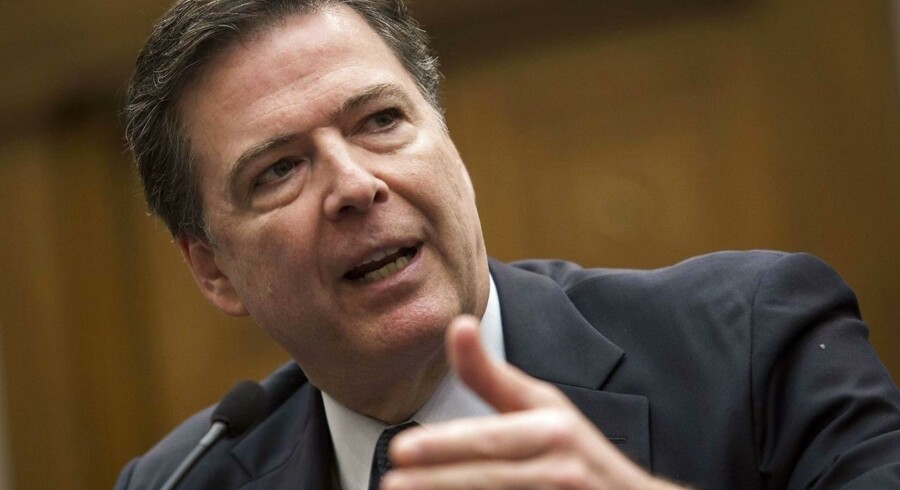 FBIs direktør, James Comey, har betalt mange millioner til hackere for at få adgang til en beslaglagt og krypteret iPhone men mener, at pengene var givet godt ud. Arkivfoto: Drew Angerer, Getty Images/AFP/Scanpix