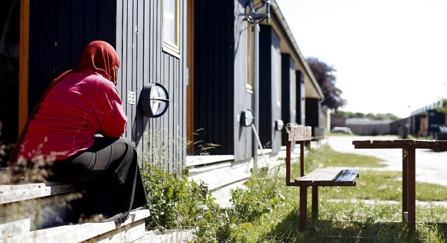 Arkivfoto fra Sandholmlejren.